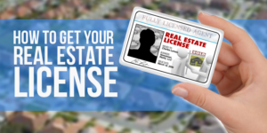California real estate license online