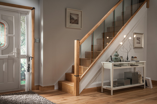 cheshire mouldings glass staircase