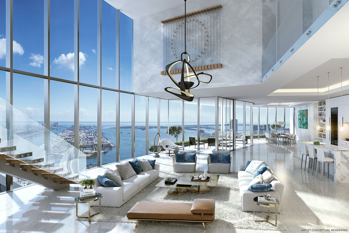 top penthouse in Monaco Tour Odeon
